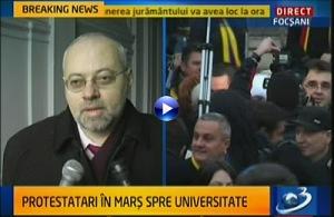 Procurorul Florin Roman sustine protestele din toată țara
