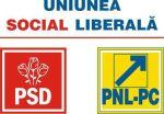 sigla USL psd pnl pc uniunea social liberala opozitie