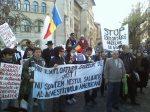 protest universitate anti chevron impotriva gazelor de sist 30 martie 2012