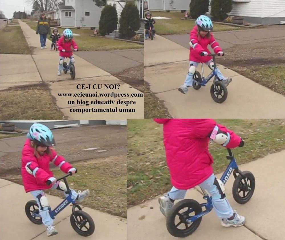 Cum sa inveti sa mergi pe bicicleta - singur, simplu, rapid. Cea mai usoara metoda (div3) (1/3)