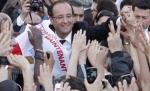 francois hollande noul presedinte al frantei,castiga alegerile in Franta, Sarkozy pierde, Foto INTACT Images EPA