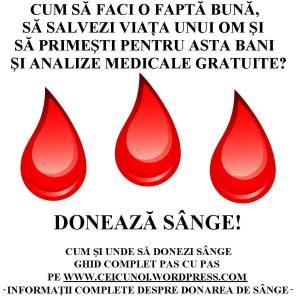 cum si unde sa donezi sange ghid complet centre donare restrictii conditii bani, ceicunoi.wordpress.com