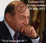 referendum demitere traian basescu 29 iulie 2012 cum voteaza romani prezenta la vot da sau nu, ceicunoi.wordpress.com