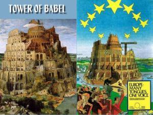 turnul babel comparatie uniunea europeana parlamentul european masonii conduc lumea prin UE  si SUA, cine sunt masonii, ceicunoi.wordpress.com