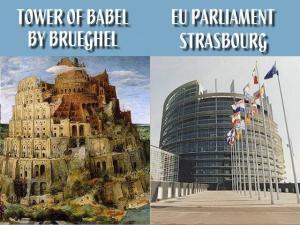 turnul babel parlamentul european limbi oficiale ue directive regulamente ale uniunii europene se aplica in romania, controlul si manipularea maselor, dictatura moderna a grupurilor oculte mason, ceicunoi