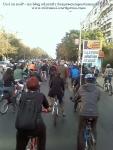 poze foto imagini eveniment mars protest bicicleta 27 oct 2012 Bucuresti Existam si o sa avem banda pista piste ilegale biciclisti, ceicunoi.wordpress.com 11