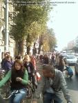 poze foto imagini eveniment mars protest bicicleta 27 oct 2012 Bucuresti Existam si o sa avem banda pista piste ilegale biciclisti, ceicunoi.wordpress.com 18