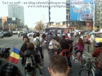 poze foto imagini eveniment mars protest bicicleta 27 oct 2012 Bucuresti Existam si o sa avem banda pista piste ilegale biciclisti, ceicunoi.wordpress.com 21