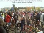 poze foto imagini eveniment mars protest bicicleta 27 oct 2012 Bucuresti Existam si o sa avem banda pista piste ilegale biciclisti, ceicunoi.wordpress.com 23