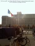 poze foto imagini eveniment mars protest bicicleta 27 oct 2012 Bucuresti Existam si o sa avem banda pista piste ilegale biciclisti, ceicunoi.wordpress.com 26