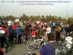 poze foto imagini eveniment mars protest bicicleta 27 oct 2012 Bucuresti Existam si o sa avem banda pista piste ilegale biciclisti, ceicunoi.wordpress.com 28