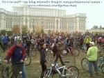 poze foto imagini eveniment mars protest bicicleta 27 oct 2012 Bucuresti Existam si o sa avem banda pista piste ilegale biciclisti, ceicunoi.wordpress.com 44
