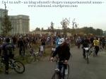 poze foto imagini eveniment mars protest bicicleta 27 oct 2012 Bucuresti Existam si o sa avem banda pista piste ilegale biciclisti, ceicunoi.wordpress.com 46