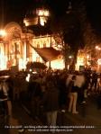 poze proteste bucuresti 16 octombrie 2012 calea victoriei universitate cladirea cec langa carul cu bere anti basescu merkel baroso sustin pdl la congresul ppe din capitala, hotii
