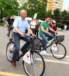 sorin oprescu manipulare pe bicicleta coruptie piste biciclete benzi biciclisti bucuresti dragos bucurenci, trafic infernal, ambuteiaje poze capitala