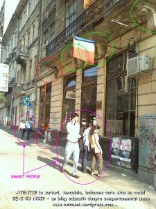 atentie cade balconul tencuiala bucuresti universitate regina elisabeta restaurare cladiri vechi care stau sa cada, pericole in bucuresti, ceicunoi.wordpress.com 2