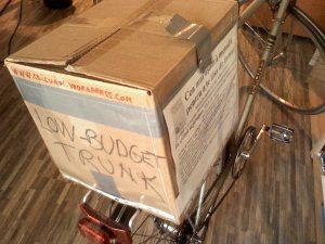 cutie portbagaj bicicleta low budget trunk ce-i cu noi ceicunoi.wordpreass.com un blog educativ despre comportamentul uman, cu bicicleta in trafic iarna, echipament ciclism 5