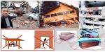 ghid ce faci in caz de cutremur triunghiul vietii tactici tehnica supravietuire cutremure dezastre naturale sfaturi in casa la bloc beton lemn spatii zone sigure plafon