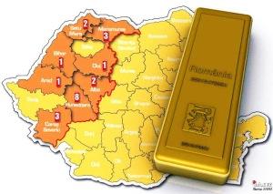 cat aur mai are Romania, furtul exploatarea resurselor naturale ale romaniei metale pretioase rare argint cupru proiect minier rosia montana RMGC manipulare actiuni ilegale conducatori politici 6