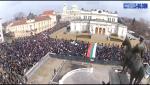 poze imagini video proteste de strada protestatari bulgaria respect bulgarilor manifestatii impotriva coruptiei anti mafie eradicarea saraciei scumpiri curent electricitate, ceicunoi.wordpress.com
