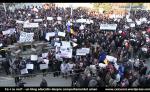 protest impotriva exploatarii gaze de sist fracturare hidraulica anti chevron pericole mediu sanatatea omului poluarea apei, 8000 de protestatari in strada 2