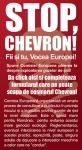 stop chevron chestionar consultare publica comisia uniunea europeana impotriva gazelor de sist fracturare hidraulica exploatare gaze sist pericole sanatate mediu dezastru ecologic poluare