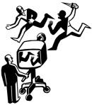 cum manipuleaza presa televizor mass media noua ordine mondiala planurile iluminati oculta mondiala guvern din umbra cine conduce lumea prostire prin stiri informatii la tv ceicunoi