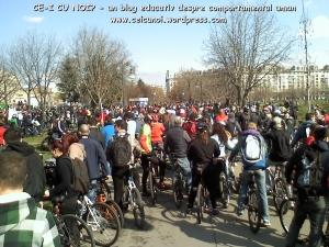 poze imagini galerie foto protest miting marsul biciclistilor pe bicicleta piste biciclete infrastructura reala biciclisti 23 martie 2013 parc izvor bucuresti primaria generala sorin oprescu 15