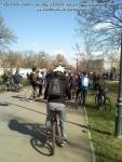 poze imagini galerie foto protest miting marsul biciclistilor pe bicicleta piste biciclete infrastructura reala biciclisti 23 martie 2013 parc izvor bucuresti primaria generala sorin oprescu 13
