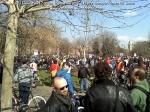 poze imagini galerie foto protest miting marsul biciclistilor pe bicicleta piste biciclete infrastructura reala biciclisti 23 martie 2013 parc izvor bucuresti primaria generala sorin oprescu 7
