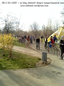 poze imagini galerie foto protest miting marsul biciclistilor pe bicicleta piste biciclete infrastructura reala biciclisti 23 martie 2013 parc izvor bucuresti primaria generala sorin oprescu 72