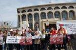proteste manifestatie anti impotriva actelor documentelor electronice de sanatate identitate electronice cu micro cip rfid, date personale, controlul omenirii
