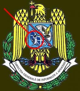 simboluri masonice cine conduce lumea francmasonerie, masoni,  bufnita fulgerul pe stema sigla oficiala dgia directia generala de informatii a apararii