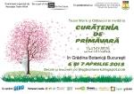 curs gratuit educativ ecologie si protectia mediului activitati distractive pentru copii 5 12 ani  Curatenia de Primavara Junior 2013 Gradina Botanica Bucuresti 6 si 7 aprilie 2013