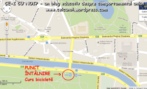 intalnire curs gratuit biciclete cum sa inveti sa mergi pe bicicleta metoda ceicunoi usor rapid sambata 6 aprilie 2013, ora 12,30, parcul Izvor Bucuresti, ceicunoi.wordpress.com 1