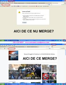 cenzura pe internet compania RDS blocheaza siteuri revolution news com informatii despre revoltele protestele de la Pungesti impotriva companiei chevron comparatie mozila firefox tor browser coruptie provider net