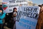 Dezbateri parlament modificarea Legii minelor ( Toni Grebla, Ion Ruset) - comunicat presa si protest Legea minelor la parlament campania Salvati Rosia Montana dreptul la proprietate 22 mai 2013