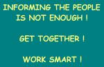 informarea oamenilor insuficienta romanii buna credinta uniti va actioneaza concret impreuna inteligent salvarea romaniei  informing the people is not enough get together work smart, ce-i cu noi