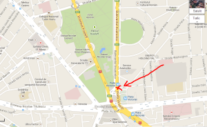 harta curs gratuit Invata sa mergi pe bicicleta sambata 13 iulie 2013 parcul Kiseleff Bucureşti. Cum sa mergi pe doua roti. Sfaturi biciclisti incepatori mersul pe biciclete in parc aer liber 1
