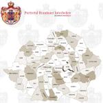 Harta Portal informatii online Romania MARE Interbelica - judete teritoriu geografie, istorie, populatie, societate, economie, cultura, religie, administratie, galerie foto imagini poze vechi