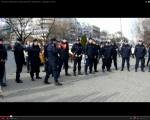 video poze imagini galerie foto abuzurile jandarmeriei impotriva cetatenilor nevinovati bucuresti romania proteste de strada pasnice protestatari bagati in dupa drepturile omului lege politie 1