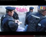 video poze imagini galerie foto abuzurile jandarmeriei impotriva cetatenilor nevinovati bucuresti romania proteste de strada pasnice protestatari bagati in dupa drepturile omului lege politie 12