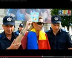 video poze imagini galerie foto abuzurile jandarmeriei impotriva cetatenilor nevinovati bucuresti romania proteste de strada pasnice protestatari bagati in dupa drepturile omului lege politie 7