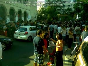 10  poze imagini video protest de strada miting proiect cianuri salvati rosia montana 1 09 septembrie 2013 bucuresti universitate impotriva gazelor de sist lege guvernul ponta rmgc