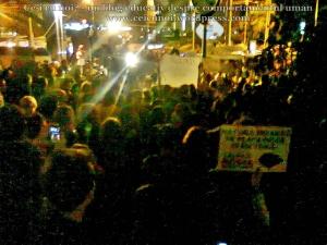 11 poze foto protest bucuresti universitate calea victoriei 3 septembrie 2013 impotriva proiectul minier cianuri rosia montana exploatarea gaze sist fracturare hidraulica pericole