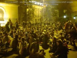 17 poze foto protest bucuresti universitate calea victoriei 3 septembrie 2013 impotriva proiectul minier cianuri rosia montana exploatarea gaze sist fracturare hidraulica pericole