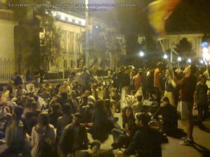 18 poze foto protest bucuresti universitate calea victoriei 3 septembrie 2013 impotriva proiectul minier cianuri rosia montana exploatarea gaze sist fracturare hidraulica pericole