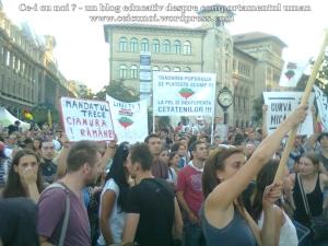 18  poze imagini video protest de strada miting proiect cianuri salvati rosia montana 1 09 septembrie 2013 bucuresti universitate impotriva gazelor de sist lege guvernul ponta rmgc