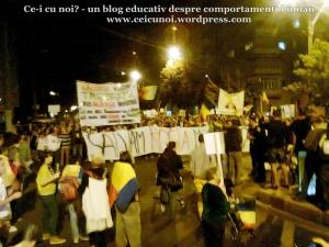 2 galerie poze imagini foto mars protest manifestatie eveniment anti impotriva proiect minier cianuri lege pentru Rosia Montana 22 septembrie 09 2013 bucuresti universitate