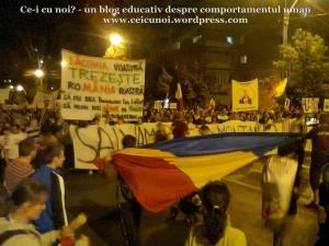 3 galerie poze imagini foto mars protest manifestatie eveniment anti impotriva proiect minier cianuri lege pentru Rosia Montana 22 septembrie 09 2013 bucuresti universitate
